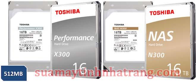 HD N300 Và X300 của Toshiba