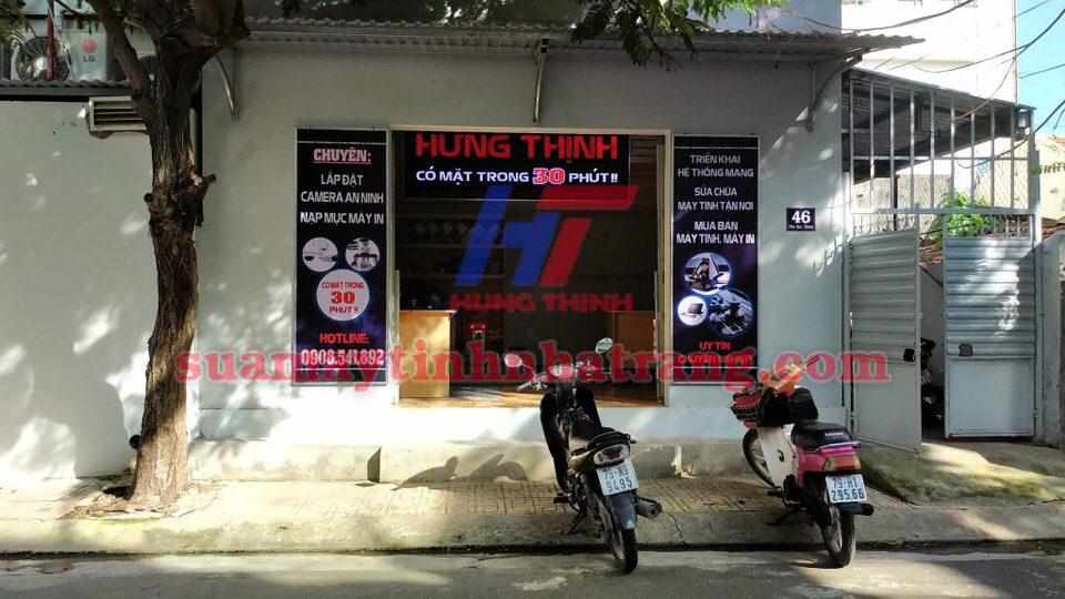 Nạp mực máy in Hưng Thịnh