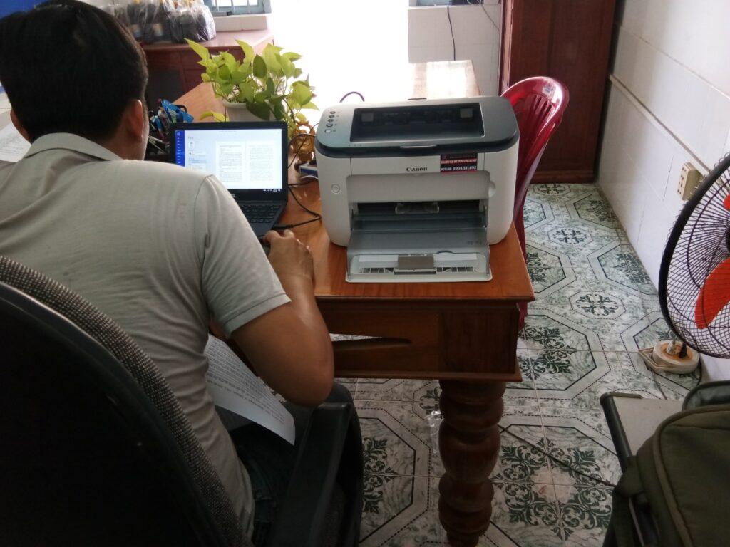 dịch vụ máy in